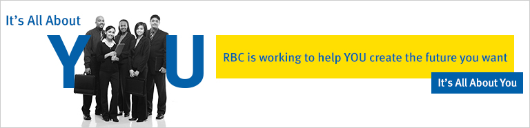 RBC is working to help YOU create the future you want