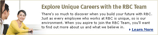 Explore Unique Careers with the RBC Team