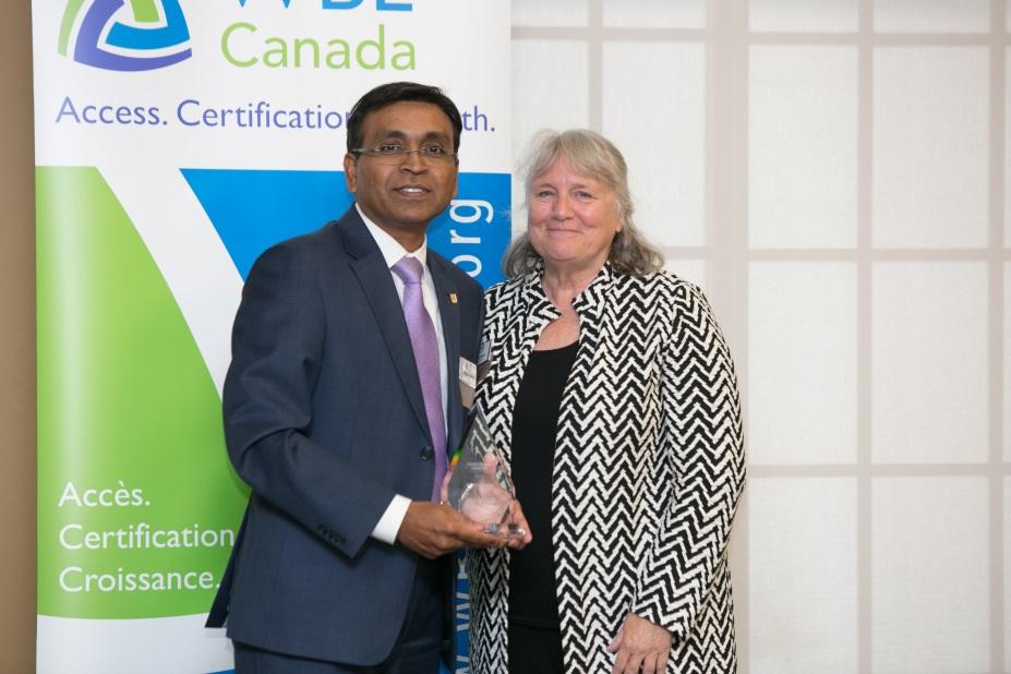 Kiruba Sankar named 2017 Corporate Leader by WBE Canada