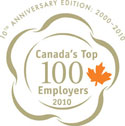 Canada's Top 100 Employers for 2010