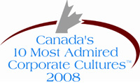 Canada's 10 Most Admired Corporate Cultures 2008