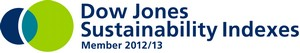Dow Jones sustainability Indexes logo