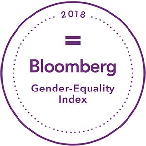 l'indice de l'égalité des sexes Bloomberg2018