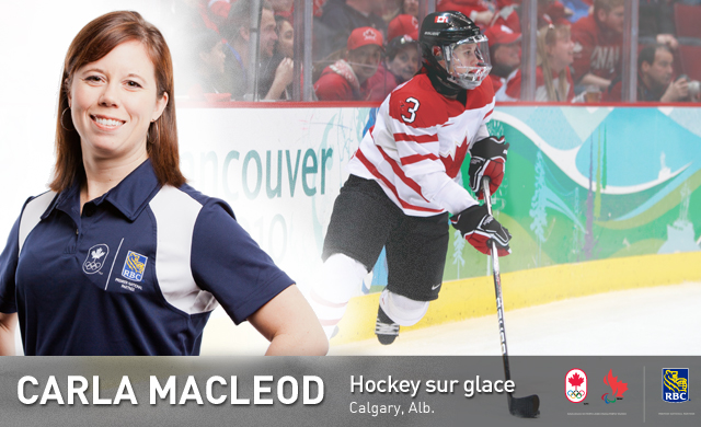 Carla MacLeod : Hockey sur glace