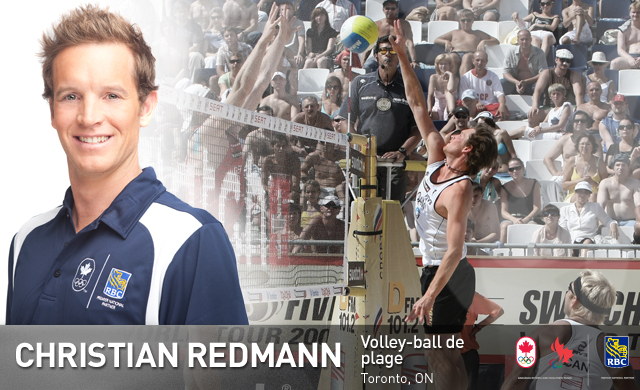 Christian Redmann : Volley-ball de plage