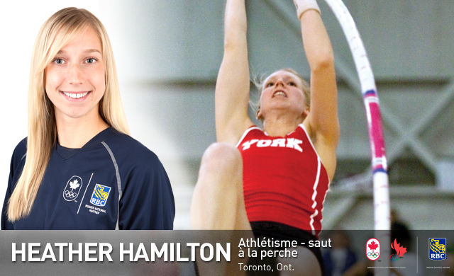 Heather Hamilton : Athlétisme - saut à la perche