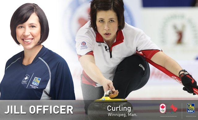 Jill Officer : Curling