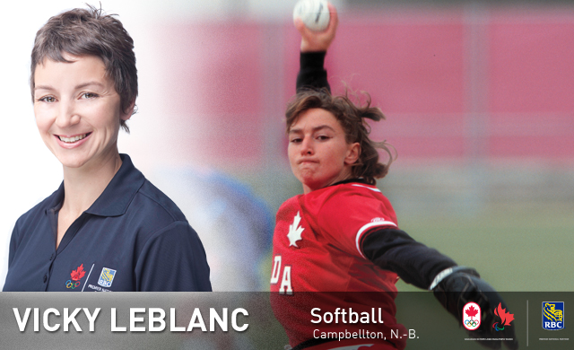Vicky Leblanc : Softball