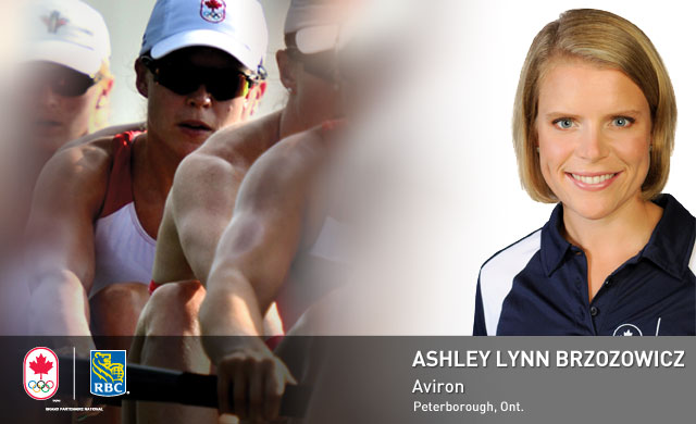 Ashley Lynn Brzozowicz : Aviron
