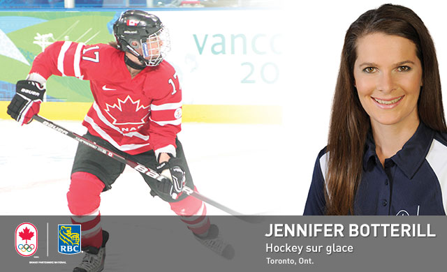 Jennifer Botterill : Hockey sur glace
