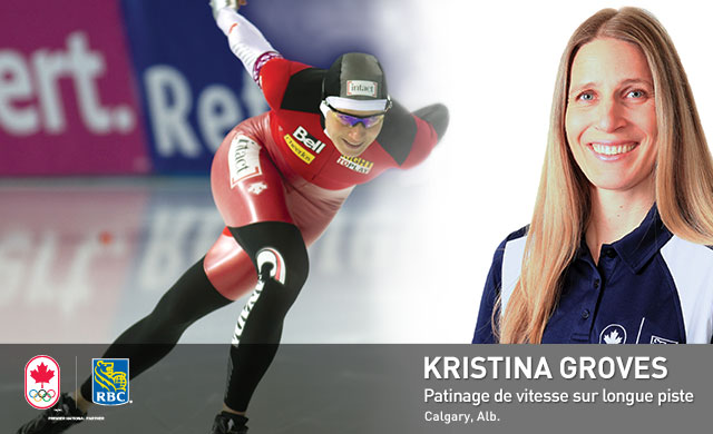 Kristina Groves : Patinage de vitesse sur longue piste
