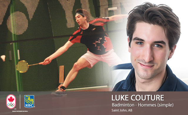 Luke Couture : Badminton - Hommes (simple)