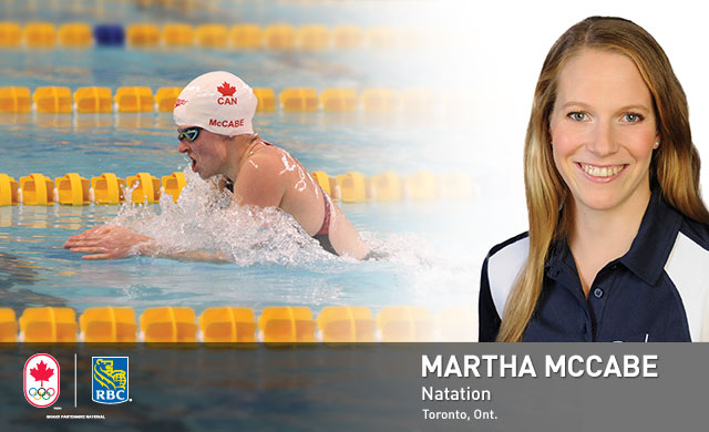 Martha McCabe : Natation