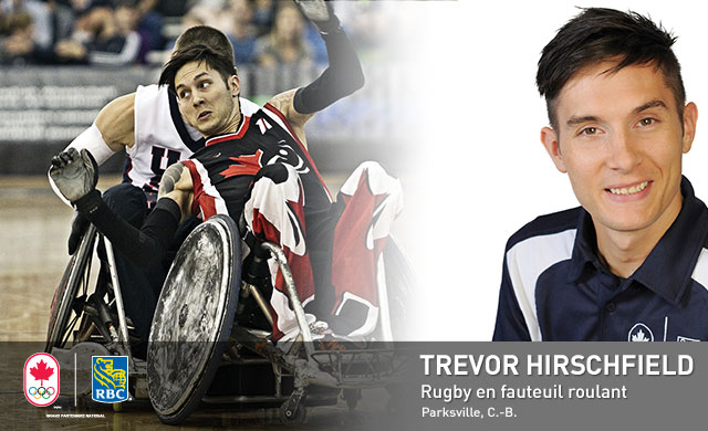 Trevor Hirschfield : Rugby en fauteuil roulant