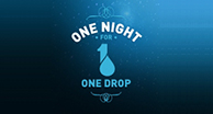 Le Projet Eau Bleue RBC soutient l'événement One Night for ONE DROP