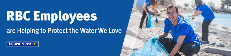 RBC Employees are Helping to Protect the Water We Love