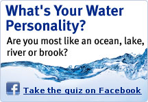 What's your water personality? Are you most like an ocean, lake, river or brook?
