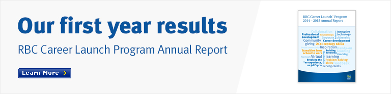 Our first year results: RBC Career Launch Program Annual Report