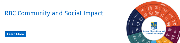 RBC Community and Social Impact. Learn More