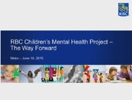 RBC Children's Mental Health Guidelines and Eligibility Webinar