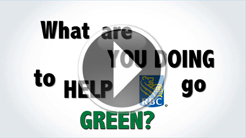 Video: RBC Earth Day 2013