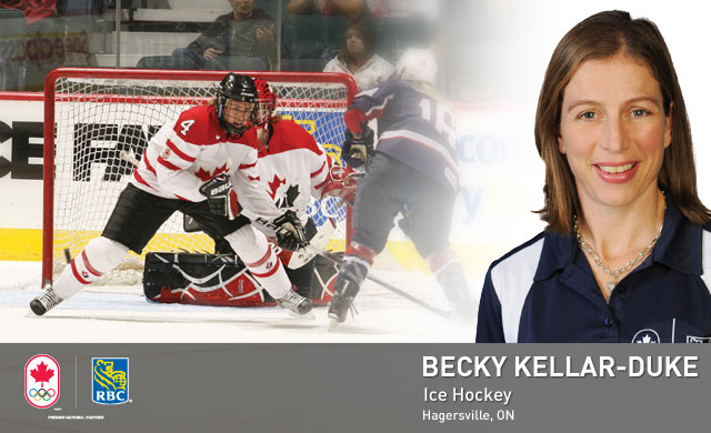 Becky Kellar-Duke : Ice Hockey