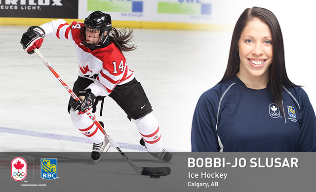 Bobbi-Jo Slusar : Ice Hockey