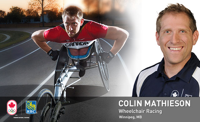 Colin Mathieson : Wheelchair Racing