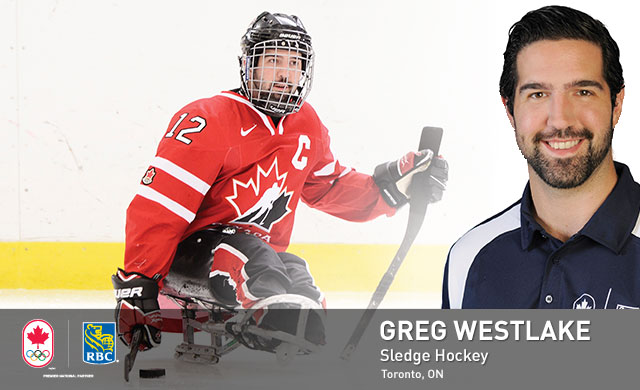 Greg Westlake : Sledge Hockey