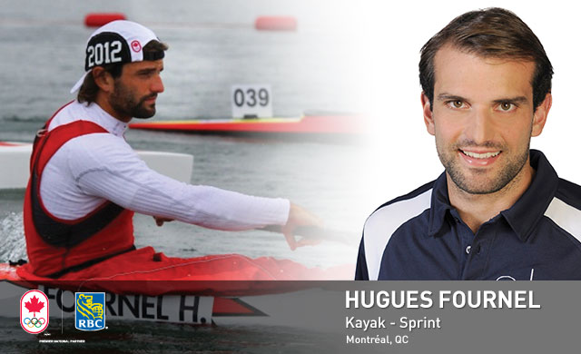 Hugues Fournel : Kayak - Sprint