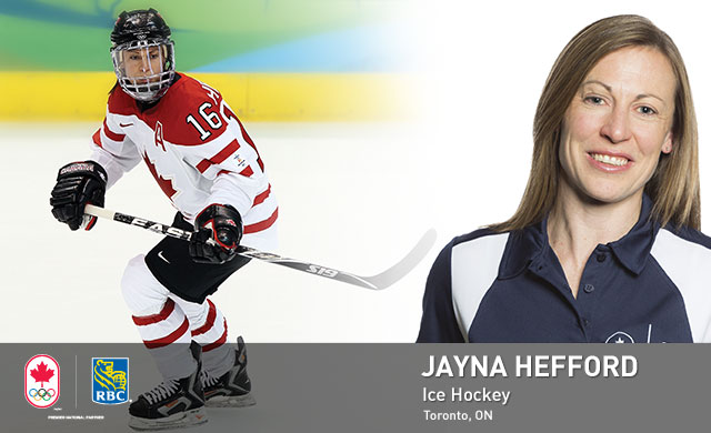 Jayna Hefford : Ice Hockey
