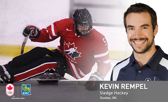 Kevin Rempel : Sledge Hockey