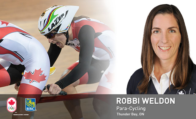 Robbi Weldon : Para-Cycling
