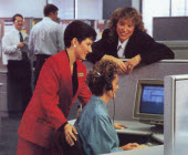 1994 – Anytime, anywhere  telephone banking makes its debut