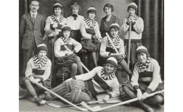 1920 – Hockey Team, Winnipeg, Manitoba