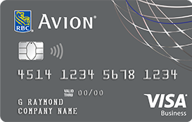 Business credit cards and loans in canada rbc rbc visa business platinum avion reheart Images