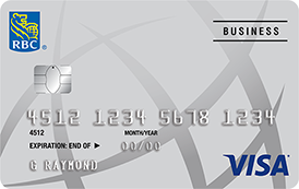 Business credit cards and loans in canada rbc rbc visa business reheart Choice Image
