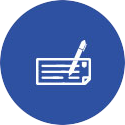 icon image of cheque