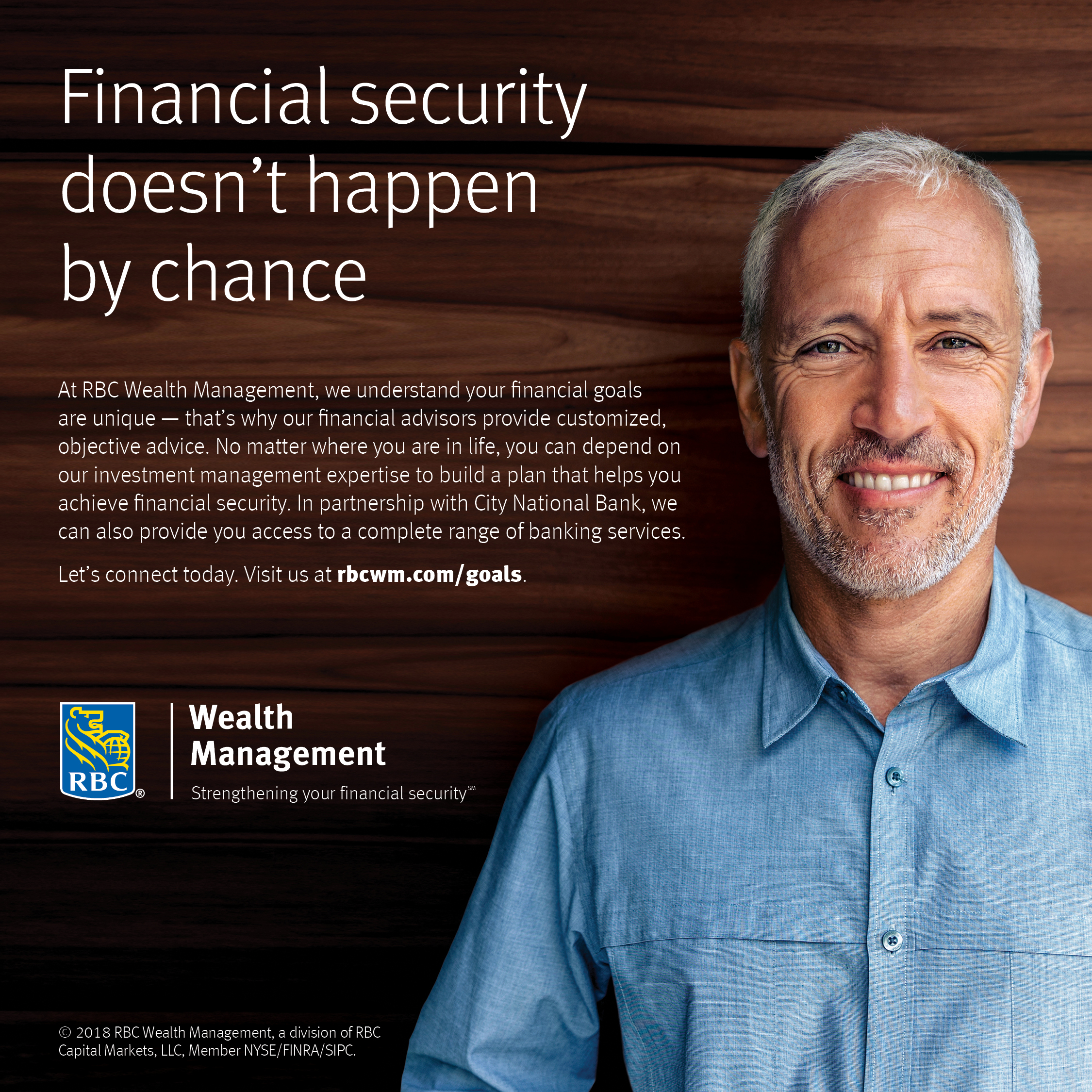 RBC Wealth Management-U.S.: Financial security doesn't happen by chance