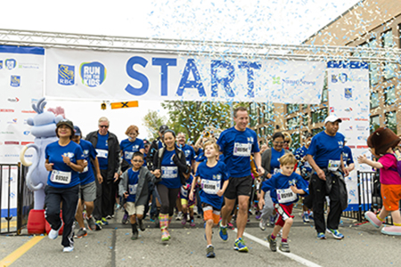 Over 8,000 participants ran, walked and strolled in the 3rd annual RBC Run for the Kids, Raising $2 million benefitting youth mental health.
