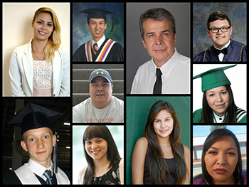 The 2014 RBC Aboriginal Student Award Winners