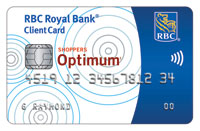 New RBC Shoppers Optimum Banking Account - Debit Card