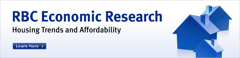 RBC Economic Research  Housing Trends and Affordability Learn more