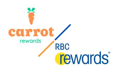 Logo - Carrot Rewards / RBC Rewards