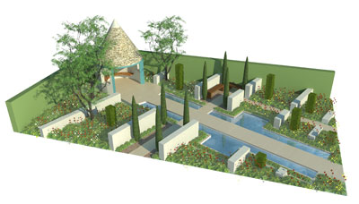 Sneak peek at the RBC Blue Water Garden plan