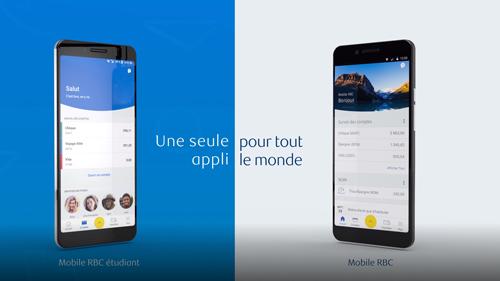 Video: La version pour étudiant de l'appli Mobile RBC, offre une expérience bancaire mobile adaptée aux préférences des étudiants pour les aider à se bâtir un avenir financier brillant.