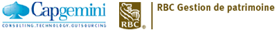 Capgemini  et RBC Gestion de patrimoine