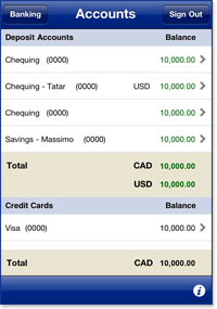 View Account Balances