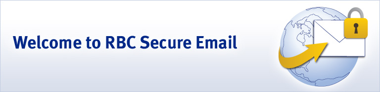 Welcome to RBC Secure Email