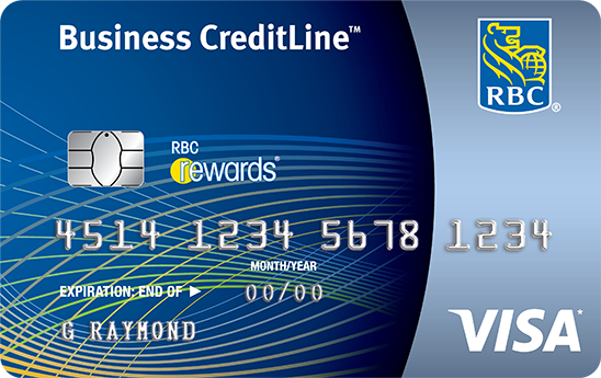 RBC Visa Credit Line for Small Business credit card
